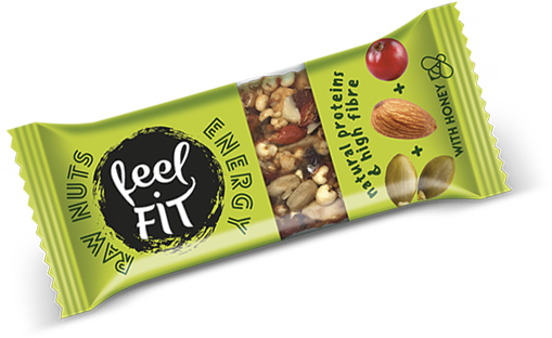RAW NUTS & SEEDS ENERGY – zielony
