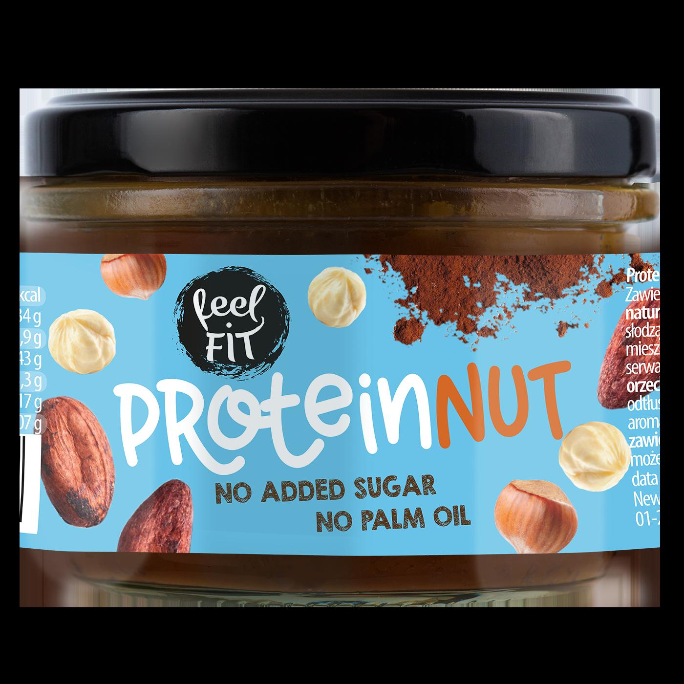 Protein chocolate & hazelnut spread 200 g
